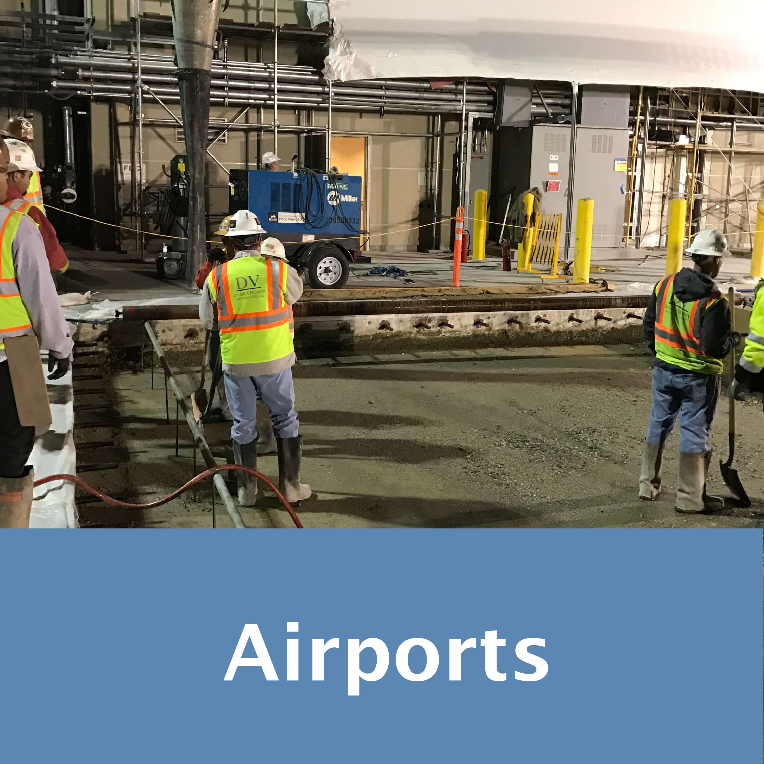 DV Airports Projects